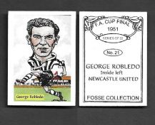Newcastle United George Robledo Chile 21 (FC)